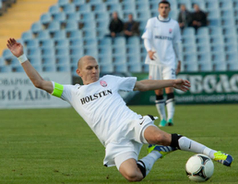 Никита Каменюка, фото ФК Заря