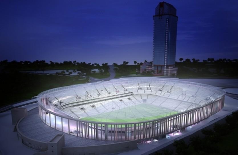 Будущий стадион, фото ФК Бешикташ