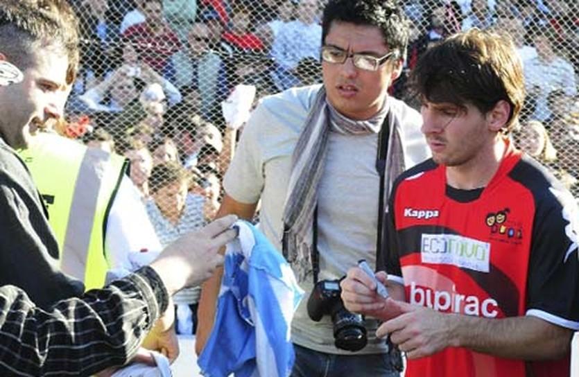 Месси в форме родного клуба, http://espn.estadao.com.br