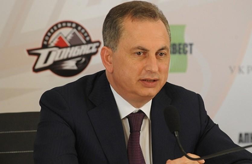 Борис Колесников, фото ХК Донбасс