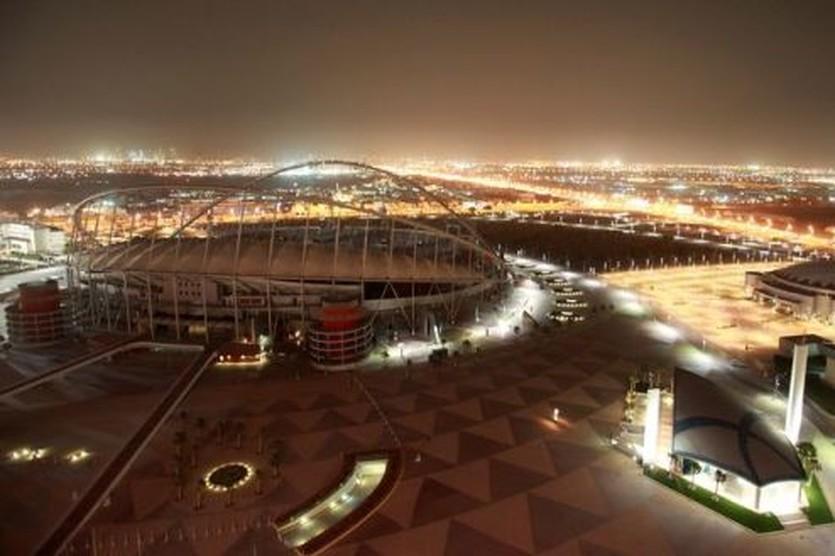 Стадион в Катаре, Getty Images