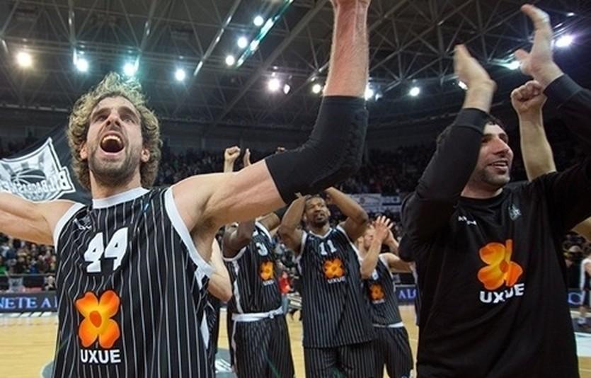 Бильбао празднует выход в полуфинал, eurocupbasketball.com