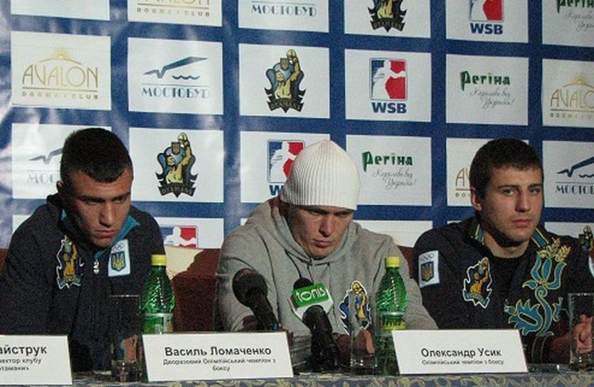 Ломаченко, Усик и Гвоздик, sport-xl.net