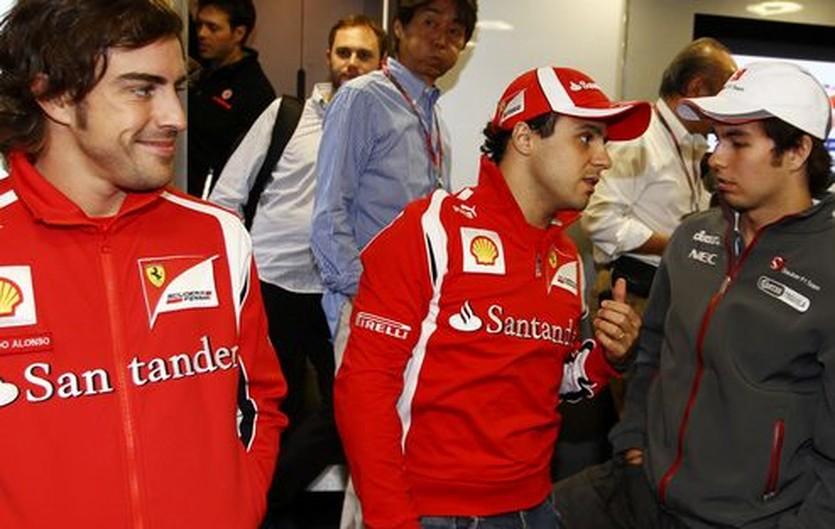 """Масса - Пересу: """"Ты понял Серхио? Будь с Фернандо аккуратнее"""", Sutton Images"""
