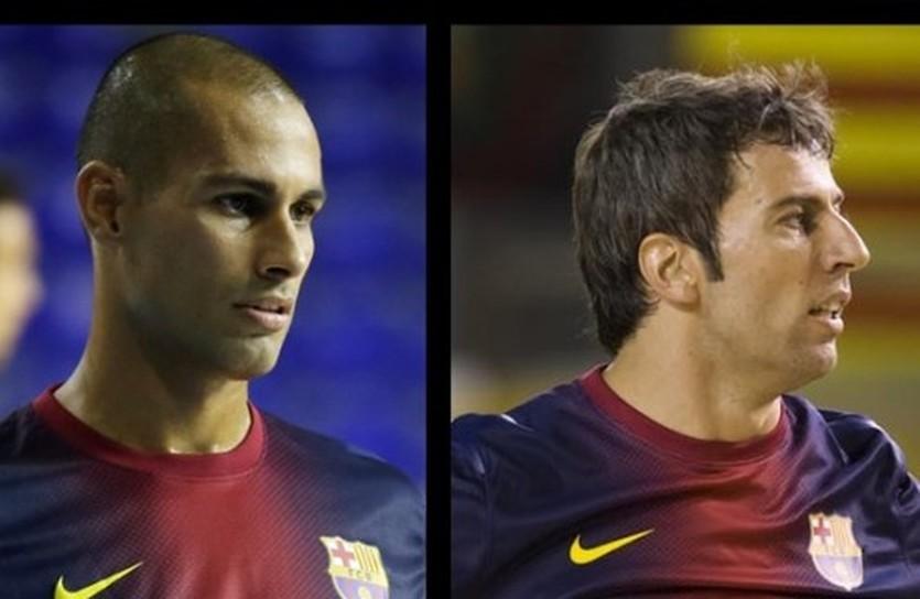 Фернандао и Торрас, фото ФК Барселона