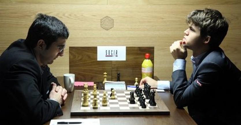 Владимир Крамник и Магнус Карлсен, fide.com