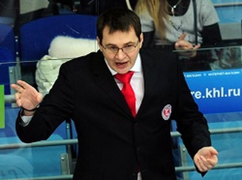 Андрей Назаров, фото ХК Витязь