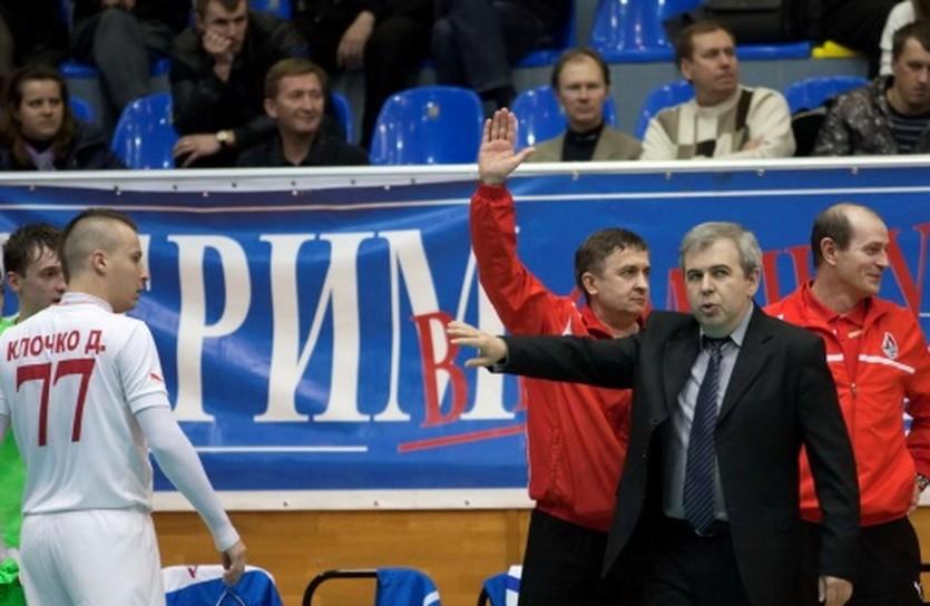 Евгений Рывкин (в пиджаке), фото МФК Локомотив