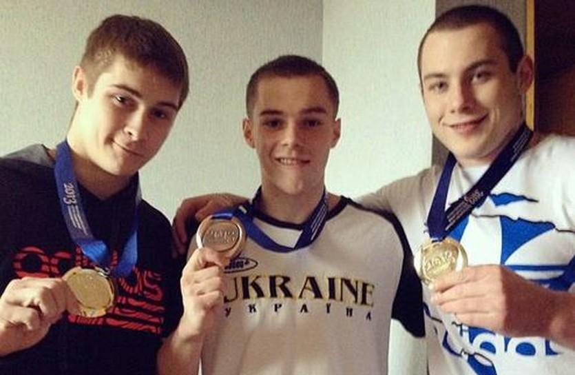 Слева направо: Степко, Верняев и Радивилов, фото УФГ