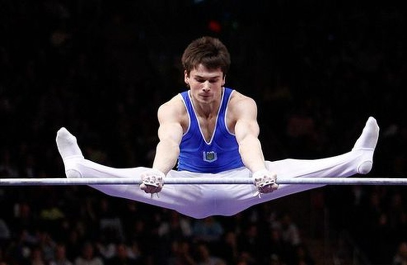 На этом фото Николай Куксенков еще в форме сборной Украины, outsports.com