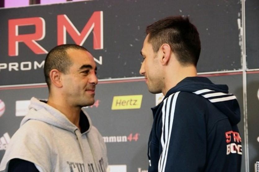 Сэм Солиман и Феликс Штурм, boxingscene.com