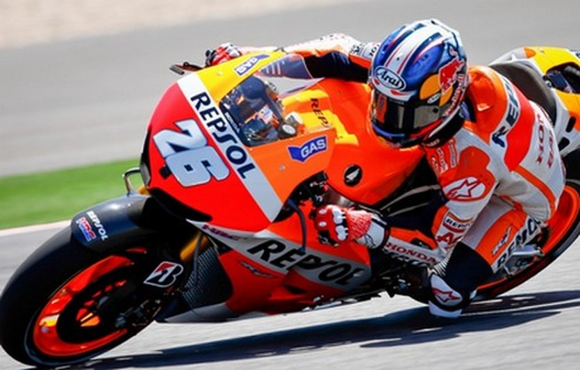 Дани Педроса уступил Лоренсо всего три тысячные секунды, MotoGP.com