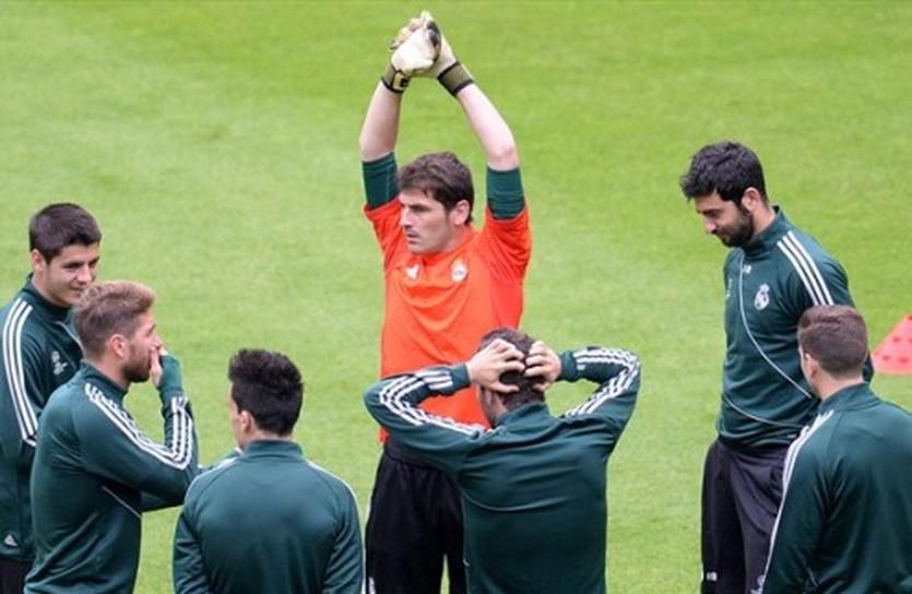 Реал во главе со своим капитаном, AFP/Getty Images