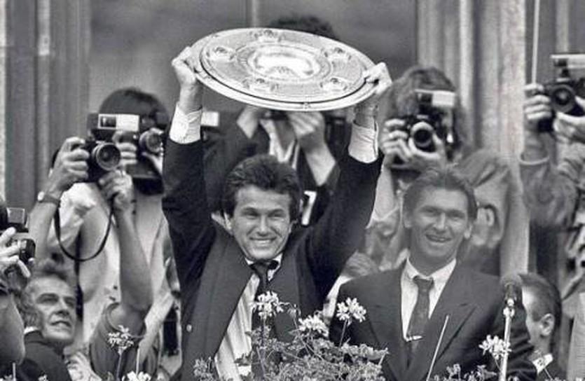 Хайнкес празднует чемпионство в 1989 году, bild.de