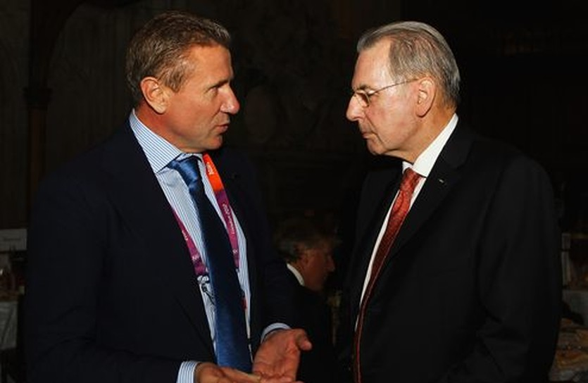Сергей Бубка и Жак Рогге, Getty Images