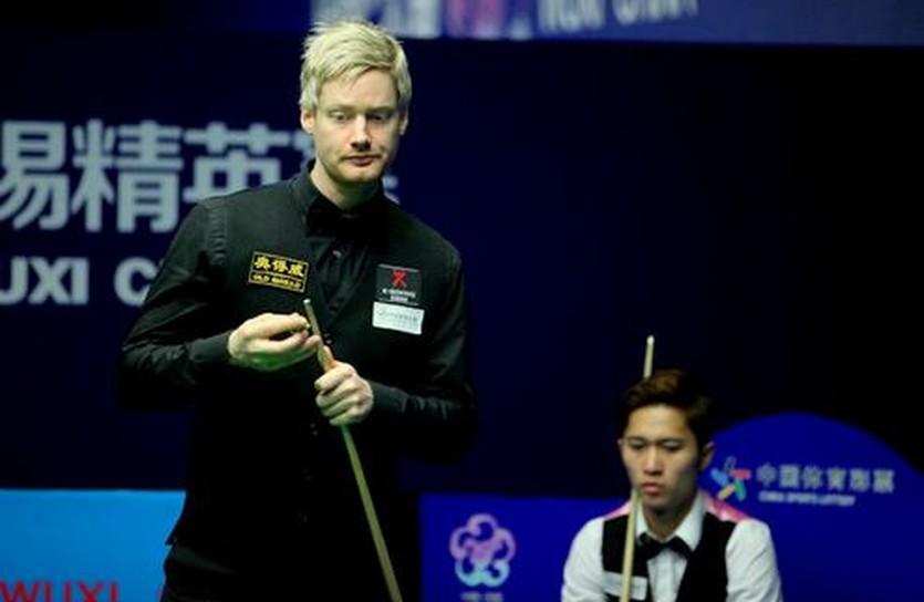 Нил Робертсон, фото worldsnooker.com