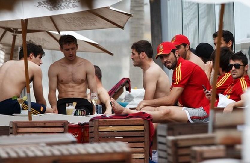 Испанцы на отдыхе, Getty Images
