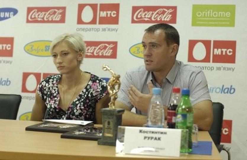 Константин Рурак и его подопечная Мария Ремень, sport-express.ua