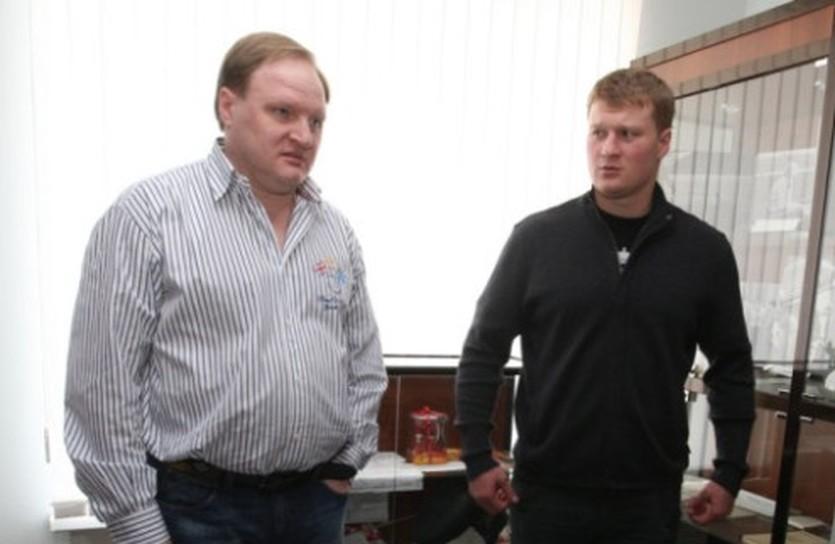 Владимир Хрюнов и Александр Поветкин, sovsport.ru