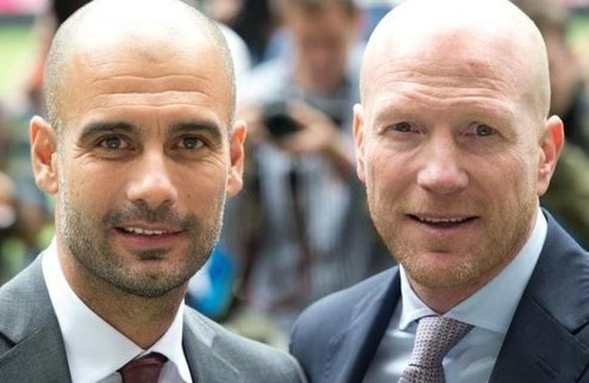 Хосеп Гвардиола и Маттиас Заммер, augsburger-allgemeine.de