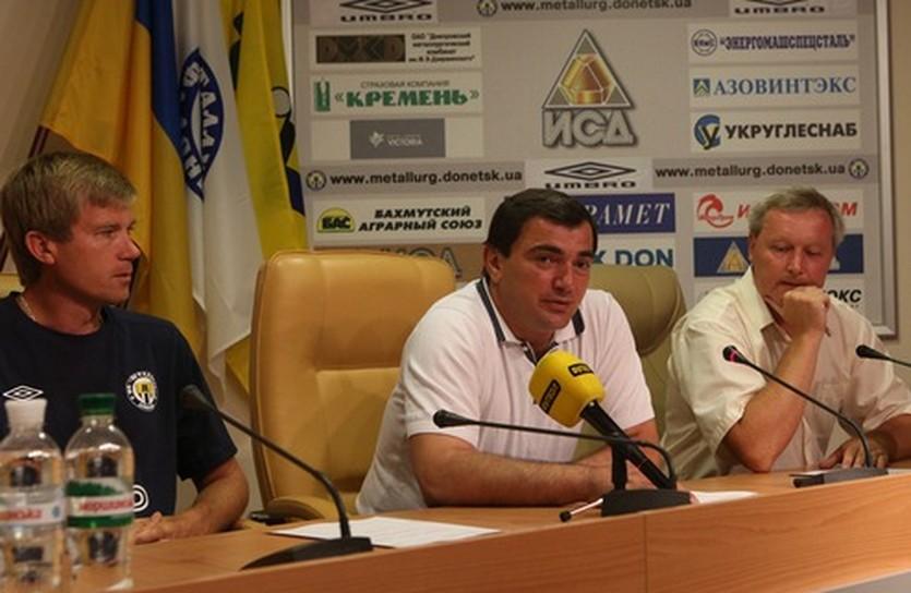 Вардан Исраелян, фото ФК Металлург Д