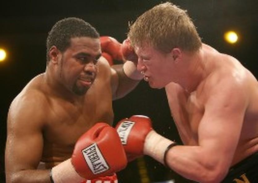 Чемберс в бою против Поветкина, Getty Images