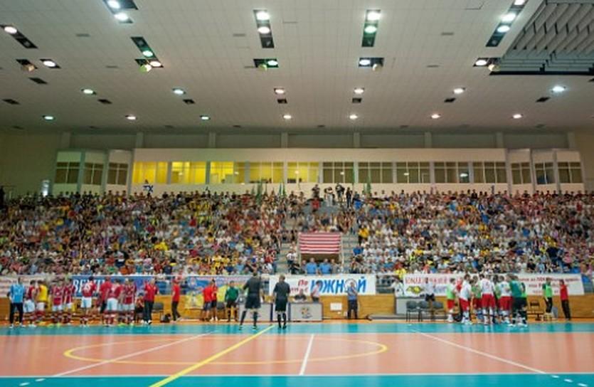 Играть будут во дворце спорта Локомотив, фото НФК Ураган