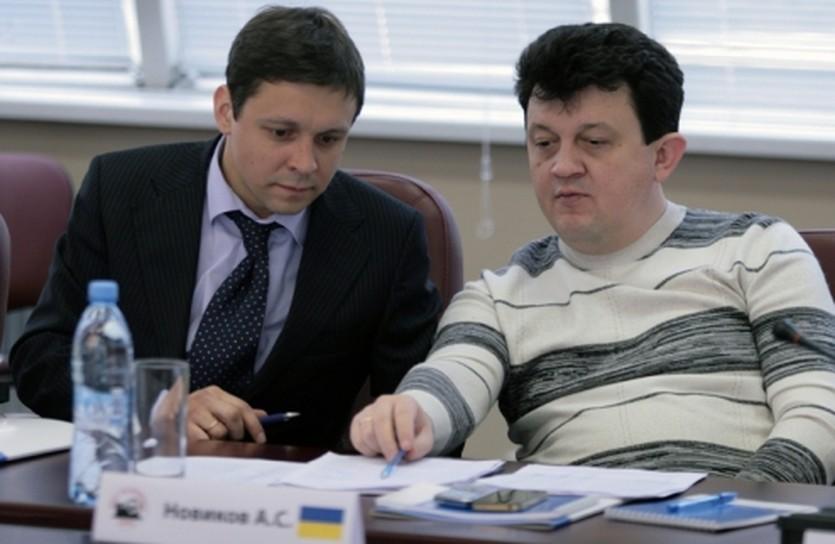 Сергей Владыко (слева) и Андрей Новиков (справа), АМФР