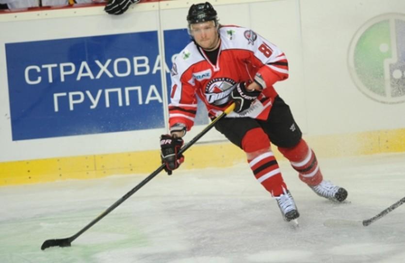 Александр Матерухин, фото ХК Донбасс