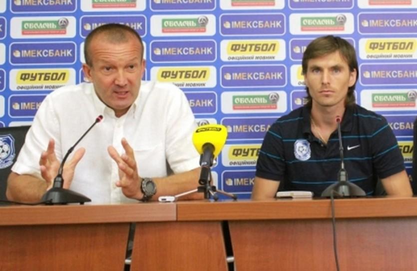 Кирилл Ковальчук (справа), фото ФК Черноморец