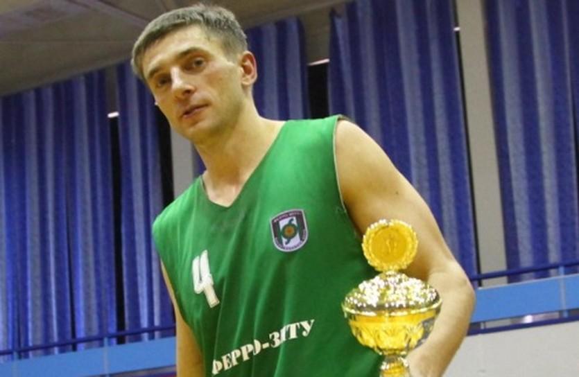 Александр Рыбалко вновь с трофеем, фото БК Ферро-ЗНТУ