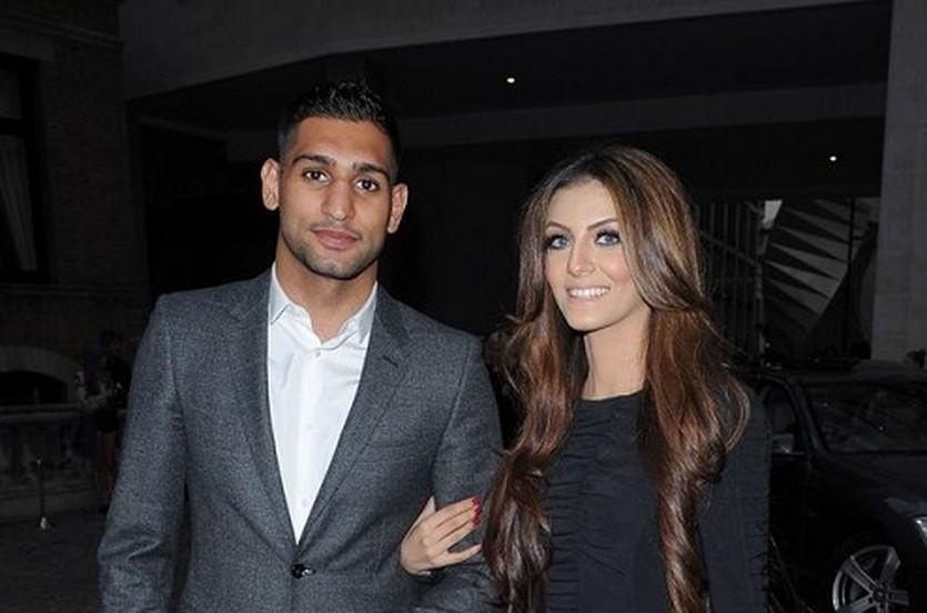Амир Хан с супругой, Splash