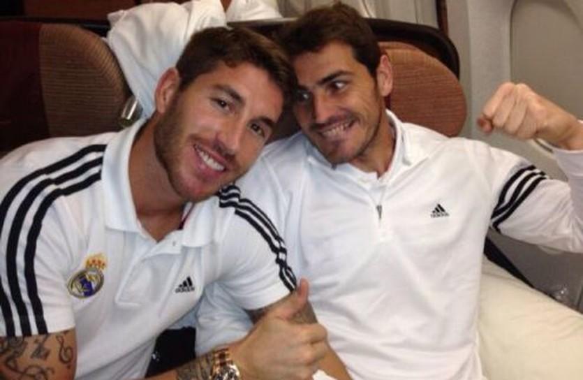 Серхио Рамос и Икер Касильяс, twitter.com