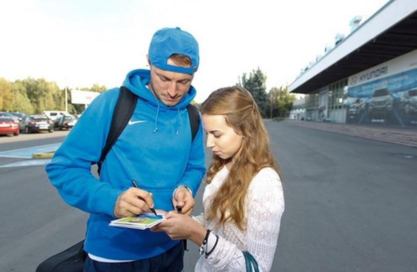 Виталий Мандзюк, фото ФК Днепр