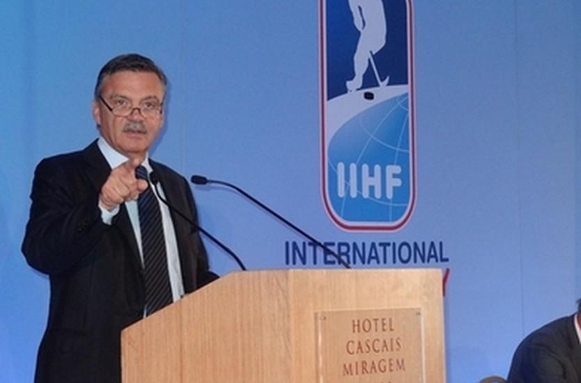 Рене Фазель, iihf.com