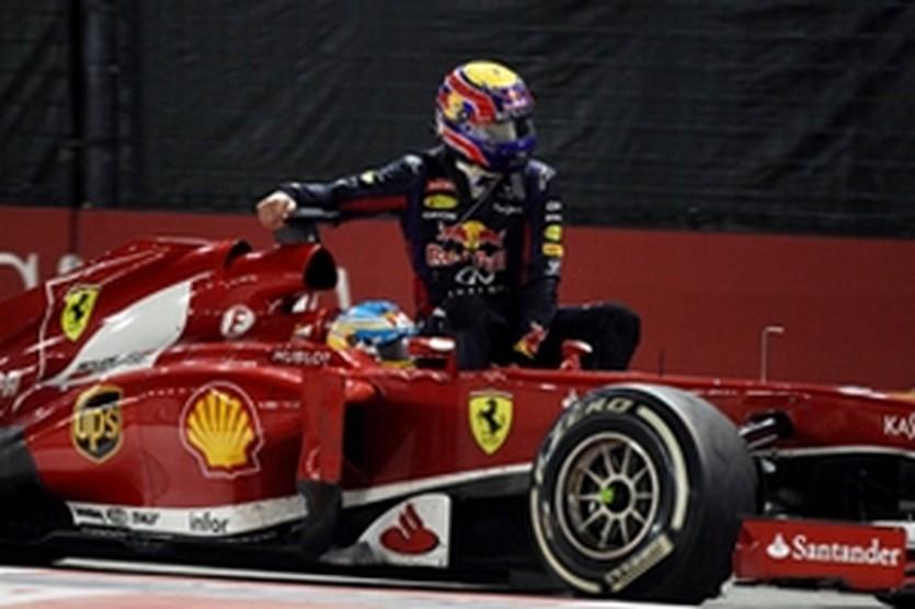 Алонсо и Уэббер, autosport.com