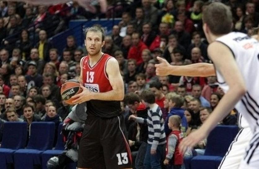 Мартинас Гечевичюс провел шикарный матч, фото euroleague.net