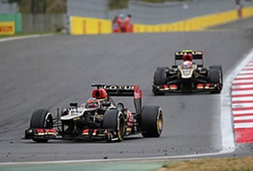 Райкконен и Грожан, autosport.com