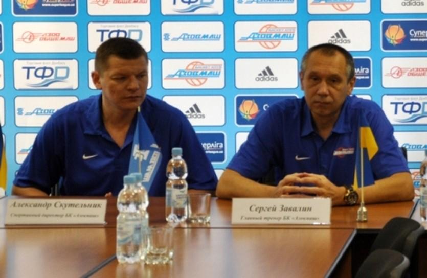 Александр Скутельник и Сергей Завалин, фото БК Азовмаш