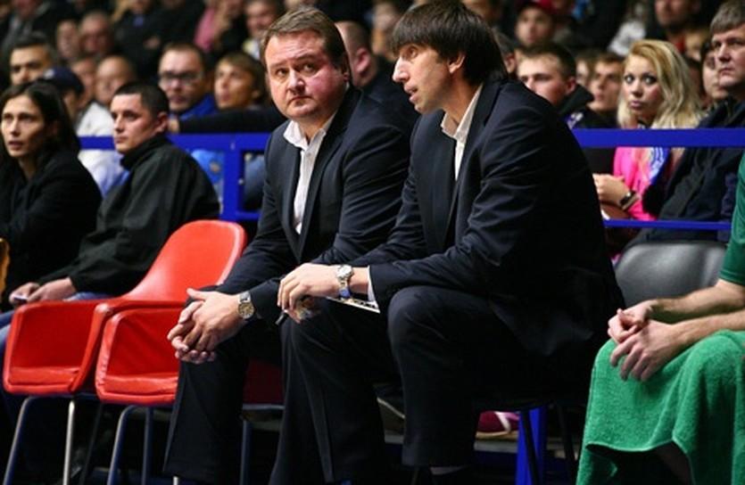 Евгений Мурзин и Александр Лохманчук, фото БК Одесса