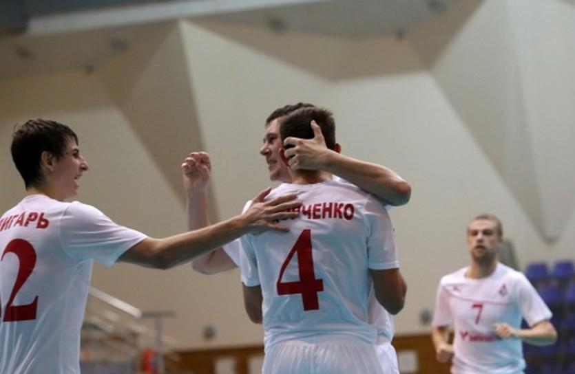 Есть первая победа, фото МФК Локомотив
