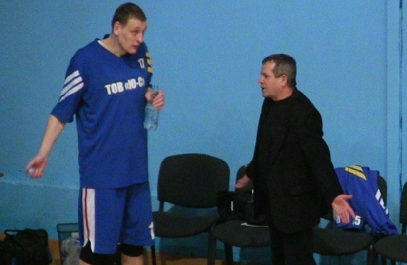 Владимир Орленко стал лучшим в составе команды из Шахтерса, фото БК Харцызск