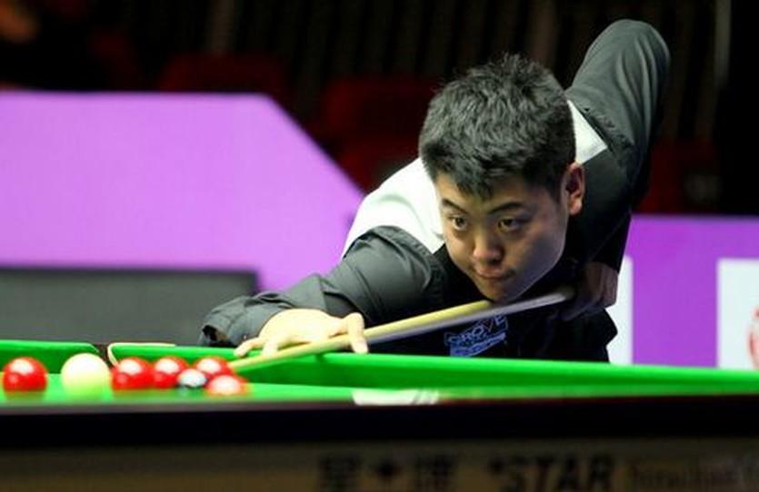 Лян Веньбо не пожалел чемпиона мира, фото worldsnooker.com
