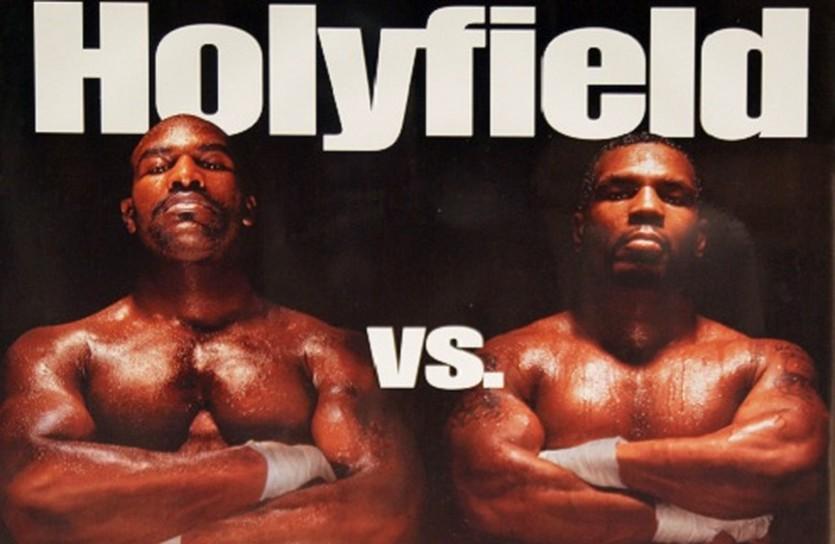 постер Холифилд и Тайсон, boxing-wallpapers.com