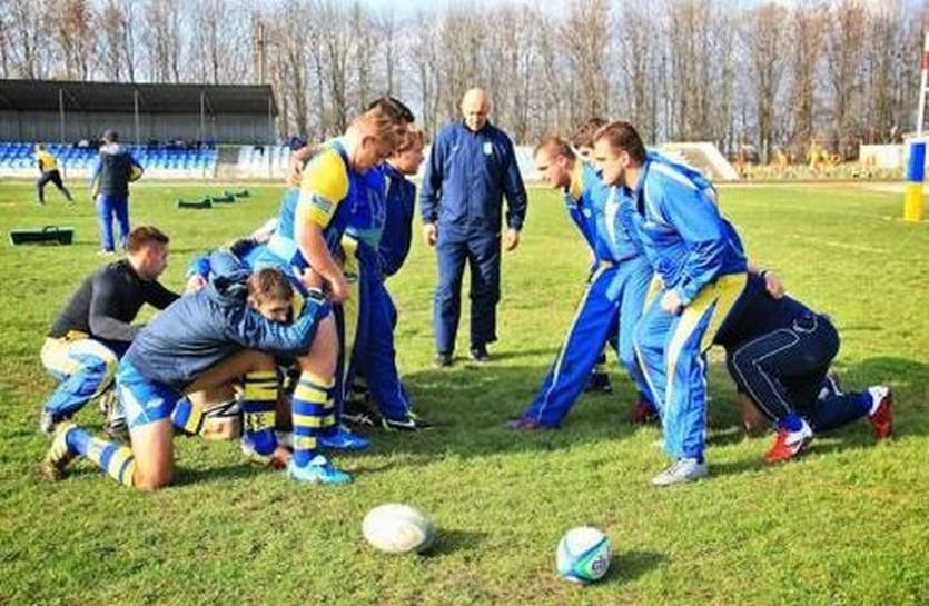 Тренировка сборной Украины, credo63.com