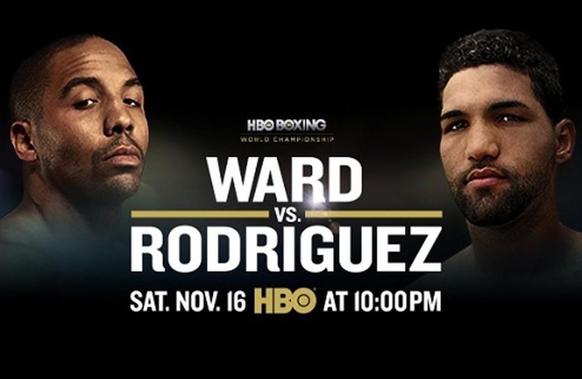 постер к бою Уорд - Родригес, HBO