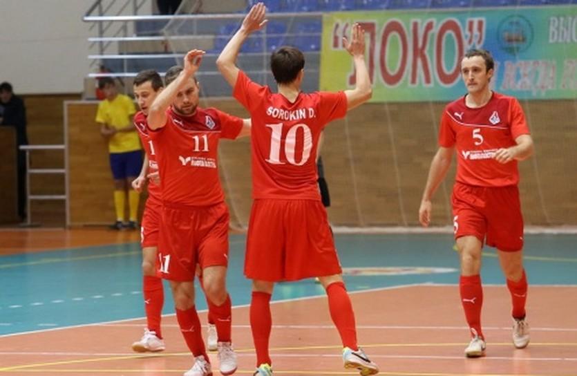 Есть победа! фото МФК Локомотив