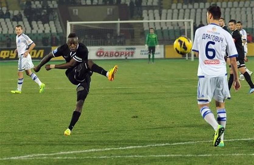 Янник Боли, фото ФК Заря