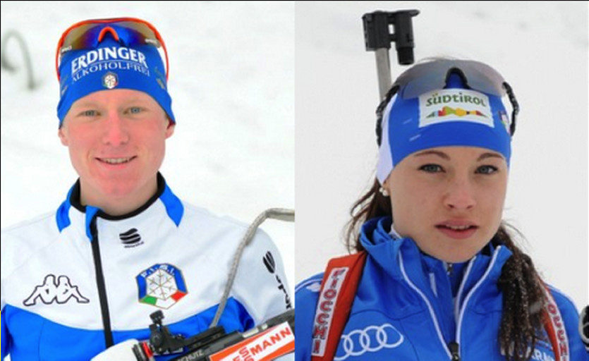 Хофер и Вирер, коллаж biathlon-aufschalke.de