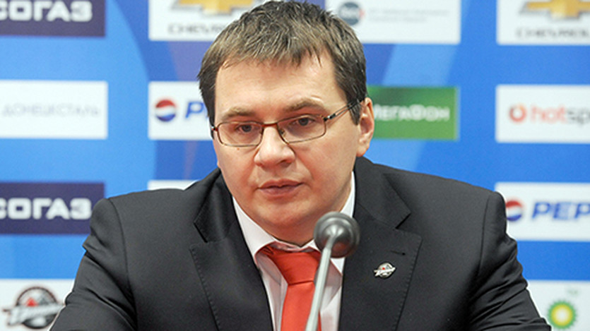 Андрей Назаров, фото ХК Донбасс